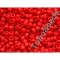 8/0 Toho Opaque Matte Cherry Red 08-45AF (10g)