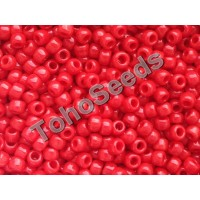 8/0 Toho Opaque Cherry Red 08-45A (10g)