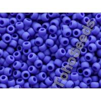 8/0 Toho Opaque Matte Navy Blue 08-48F (10g)
