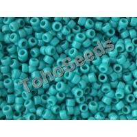 8/0 Toho Opaque Green Turquoise 08-55 (10g)
