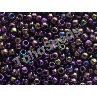8/0 Toho Metallic Rainbow Purple 08-85 (10g)