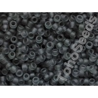 8/0 Toho Transparent Matte Gray 08-9BF (10g)