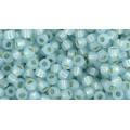 8/0 Toho Silver Line Milky Aqua Blue 08-2116 (10g)