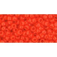 8/0 Toho Opaque Sunset Orange 08-50 (10g)