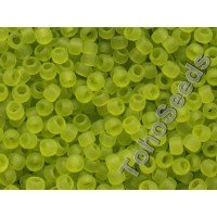 8/0 Toho Transparent Matte Lime Green 08-4F (10g)