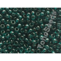 8/0 Toho Transparent Teal 08-7BD (10g)