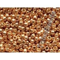 8/0 Toho Permanent Finish Galvanized Rose Gold 08-PF551 (10g)