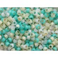 08/0 Toho Silver Lined Milky Mix Yellow Green (10g)