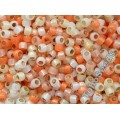 08/0 Toho Silver Lined Milky Mix Yellow Orange (10g)