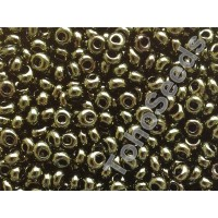 3mm Magatama Toho Gold Lustered Dark Antique Bronze TM-03-422 (10g)