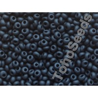 3mm Magatama Toho Opaque Matte Black TM-03-49F (10g)