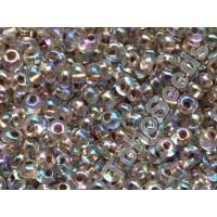 3mm Magatama Toho Gold Line Rainbow Crystal TM-03-994 (10g)