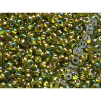 3mm Magatama Toho Gold Line Rainbow Peridot TM-03-996 (10g)