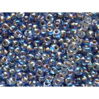 3mm Magatama Toho Gold Line Rainbow Sapphire Blue TM-03-997 (10g)
