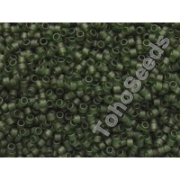 Toho Treasure #1 Transparent Matte Olivine Green TT-01-940F (5g)
