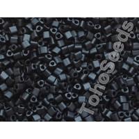 11/0 Toho Triangle Opaque Matte Black TG-11-49F (10g)