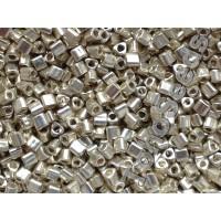 11/0 Toho Triangle Metallic Aluminum TG-11-558 (10g)