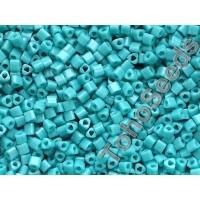 11/0 Toho Triangle Opaque Turquoise TG-11-55 (10g)