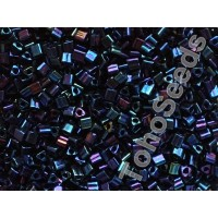 11/0 Toho Triangle Metallic Nebula Blue TG-11-82 (10g)