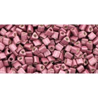 11/0 Toho Triangle Metallic Matte Vintage Rose TG-11-553F (10g)